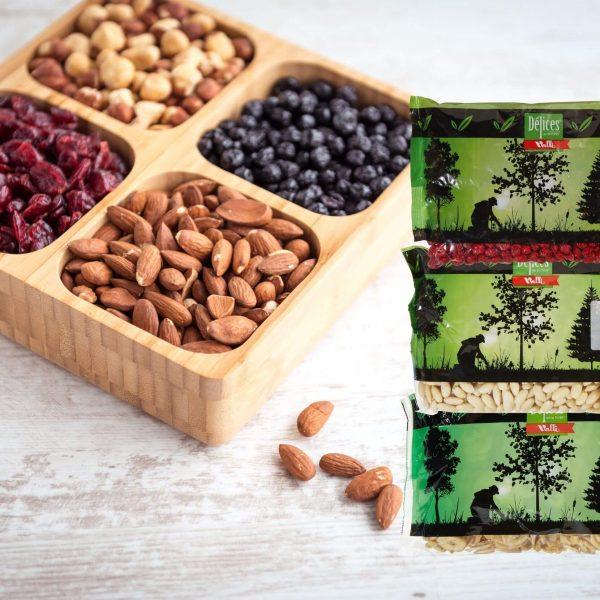Noix, Graines et Fruits séchés (emballage)